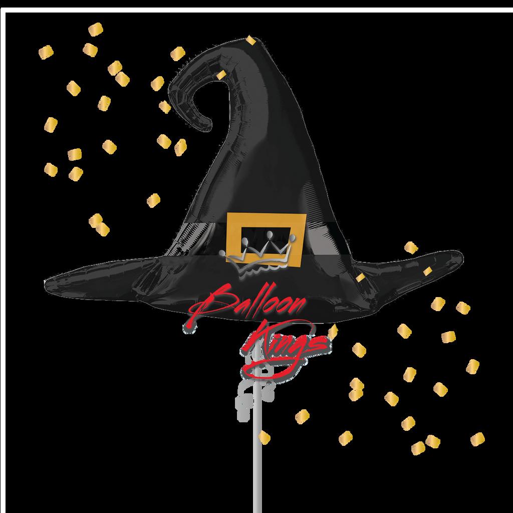 Satin Black Witch Hat