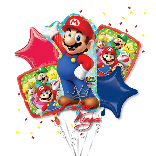 Super Mario Bros Bouquet
