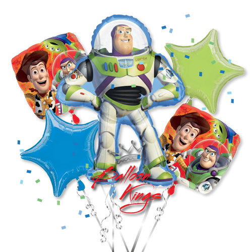Toy Story Character List : Toy story group balloon kings