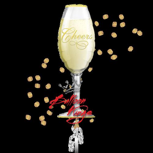 Champagne Glass Cheers