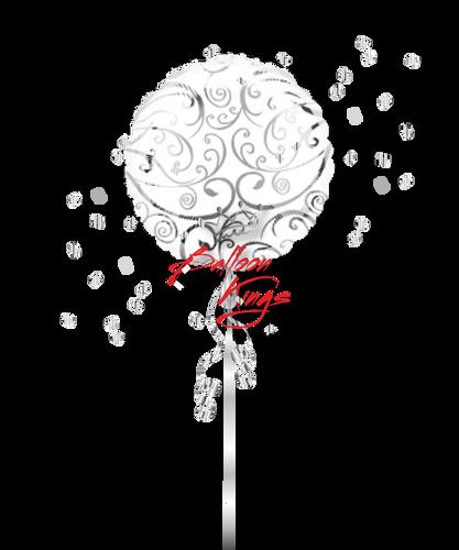 Silver Swirls Designer