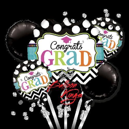 Congrats Grad Chevron Bouquet