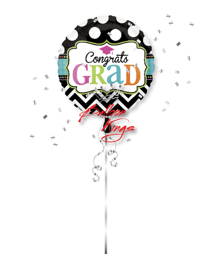 Congrats Grad Dots and Chevron