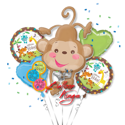 Baby Shower Fisher Price Bouquet Balloon Kings