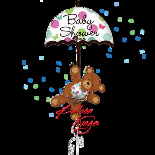 Baby Shower Umbrella Bear
