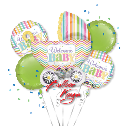 Baby Stroller Brights Bouquet