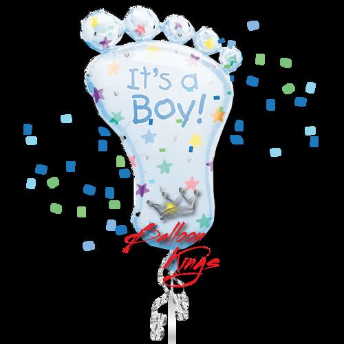 Its A Boy Foot