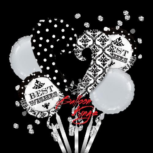 Best Wishes Open Heart Bouquet