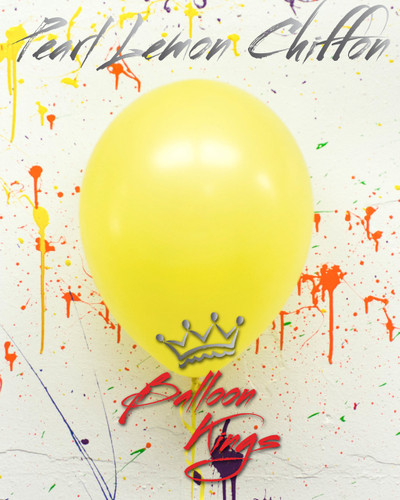 16in Pearl Lemon Chiffon