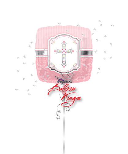 Pink Cross Blessings