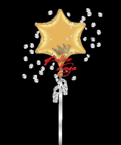 Gold 6 Point Star