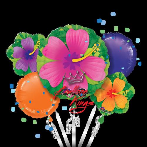 Tropical Hibiscus Bouquet