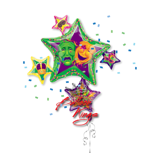 Mardi Gras Stars Cluster