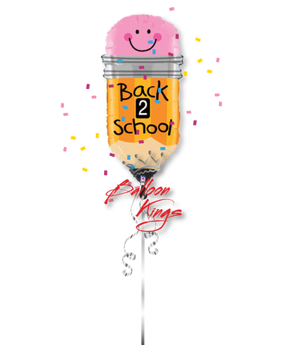 Welcome Back To School Pencil