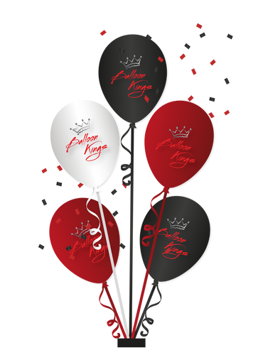 Centerpiece of 5 Balloons