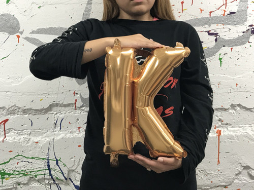 14in Gold Letter K