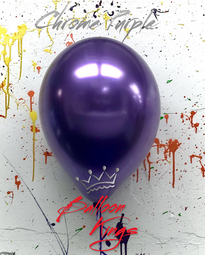 11in Chrome Purple