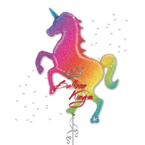 Glittering Rainbow Unicorn