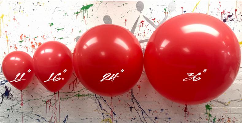 Demystifying Balloons Sizes