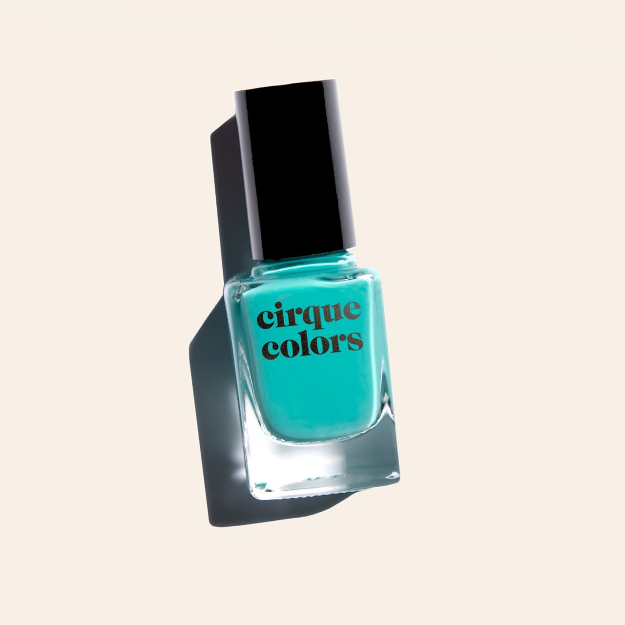 Turquoise Creme Nail Polish - Cirque Colors Lady Liberty