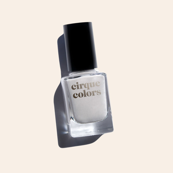 Dove Gray Creme Nail Polish - Cirque Colors Page Six