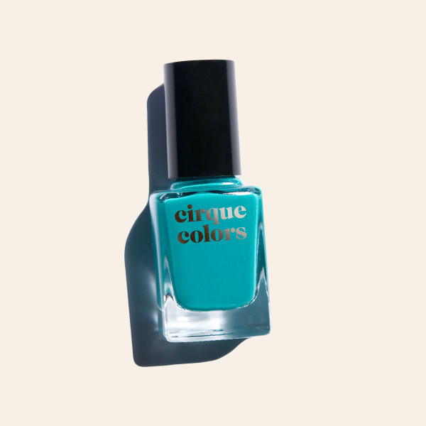 Teal Creme Nail Polish - Cirque Colors Mermaid Parade