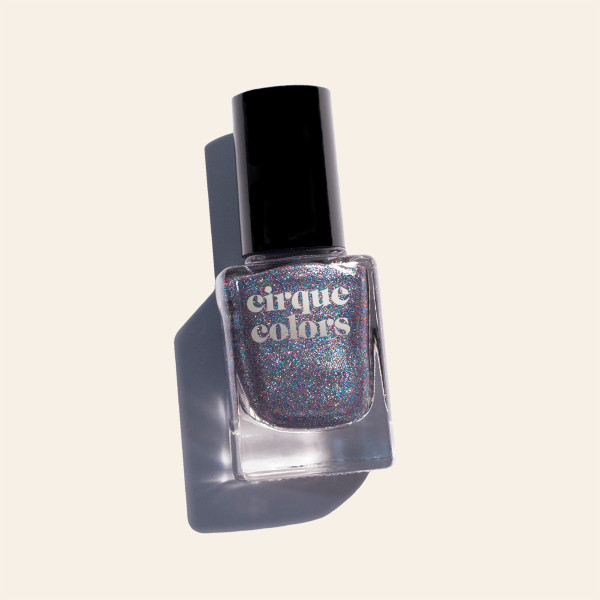 Metallic Gunmetal Nail Polish - Cirque Colors Druzy