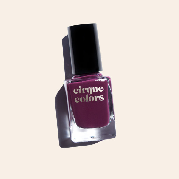 Violet Purple Plum Creme Nail Polish - Cirque Colors La Vie Boheme