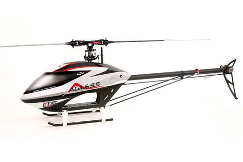 Agile 5.5 Collective Pitch 3D RC Helicopter Combo Kit