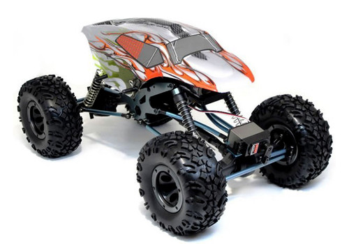 HSP 1/10 RC Rock Crawler With 9kg servo Wheel Steering - 2.4Ghz