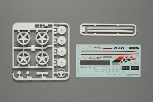 Tamiya 12608 - 1/24 R34 GT-R Nismo Parts Nismo Dress-Up Parts (R34)  [12608] for 24210,24225