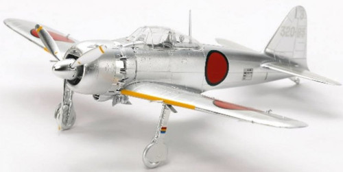 Tamiya 1/72 - Mitsubishi A6M5 (ZEKE) Zero Fighter Silver Plated [10316]