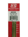 "K&S Brass Rectangle Tube 3/16"" x 3/8"" x 12"" #8268"