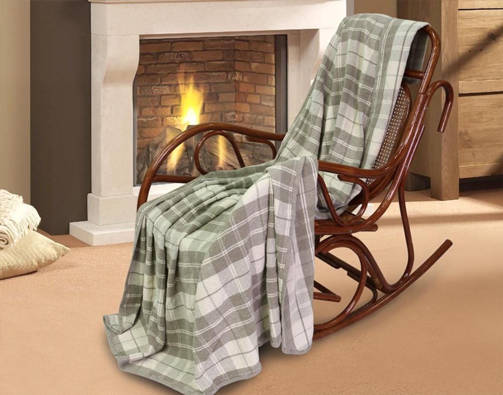 Large Pure Linen Blanket