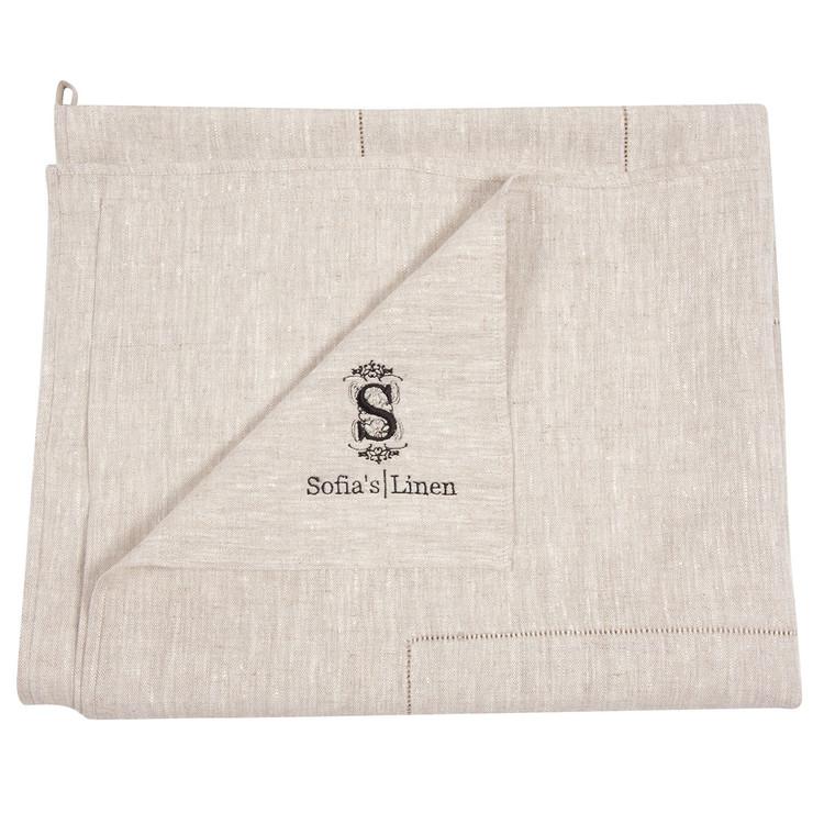 Flax linen bath sheet