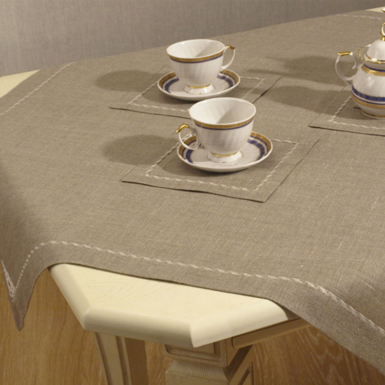 Pure Linen Tablecloth and Napkin sets