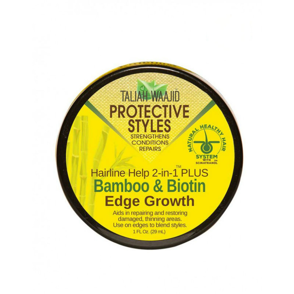 Taliah Waajid Protective Styles Hairline Help 2-in-1 Plus Bamboo & Biotin Edge Growth (1 oz.)