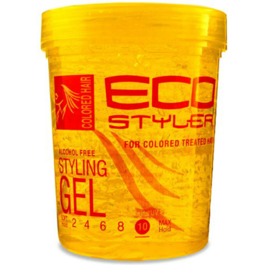 Ecoco Eco Styler Colored Hair Styling Gel 32 Oz Naturallycurly