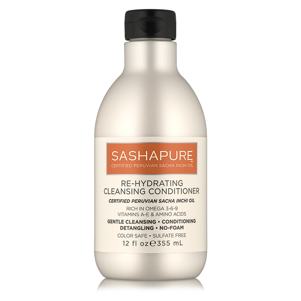 SASHAPURE Re-Hydrating Cleansing Conditioner (12 oz.)