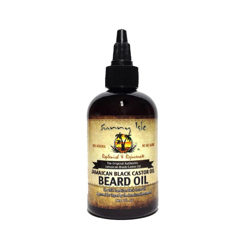 Sunny Isle Jamaican Black Castor Oil Beard Oil (4 oz.)