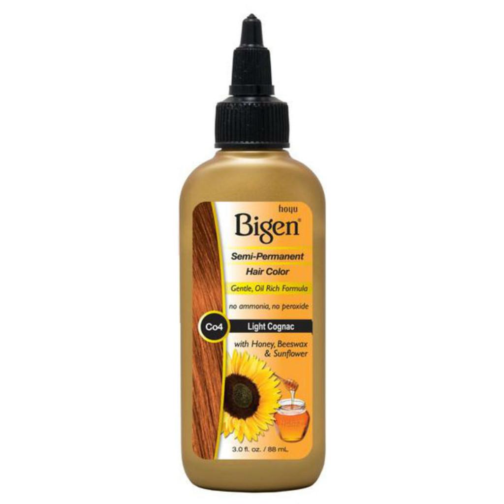 Review Bigen Co4 Light Cognac Semi Perm Hair Color 3 Oz