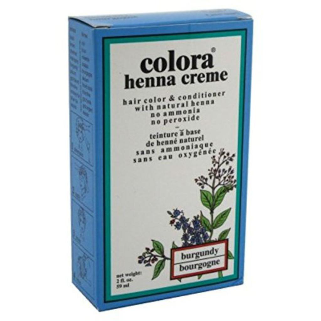 Review: Colora Henna Creme Burgundy (2 oz.)