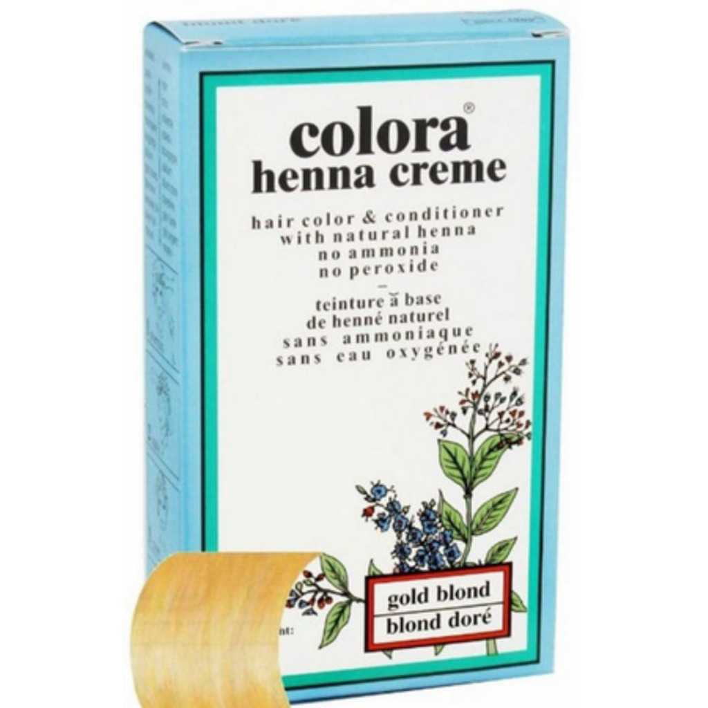 Review: Colora Henna Creme Gold Blonde (2 oz.)