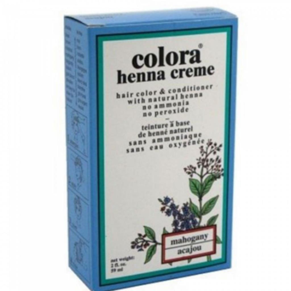 Colora Henna Creme Mahogany (2 oz.)
