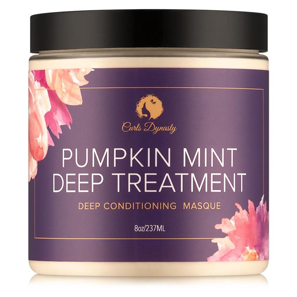 Curls Dynasty Pumpkin Mint Deep Treatment Masque (8 oz.)