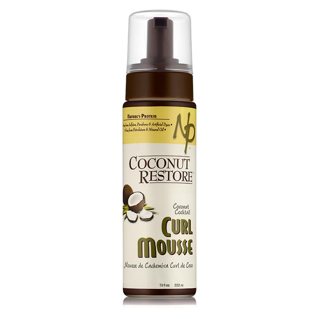 Coconut Restore Coconut Cocktail Curl Mousse (7.5 oz.)