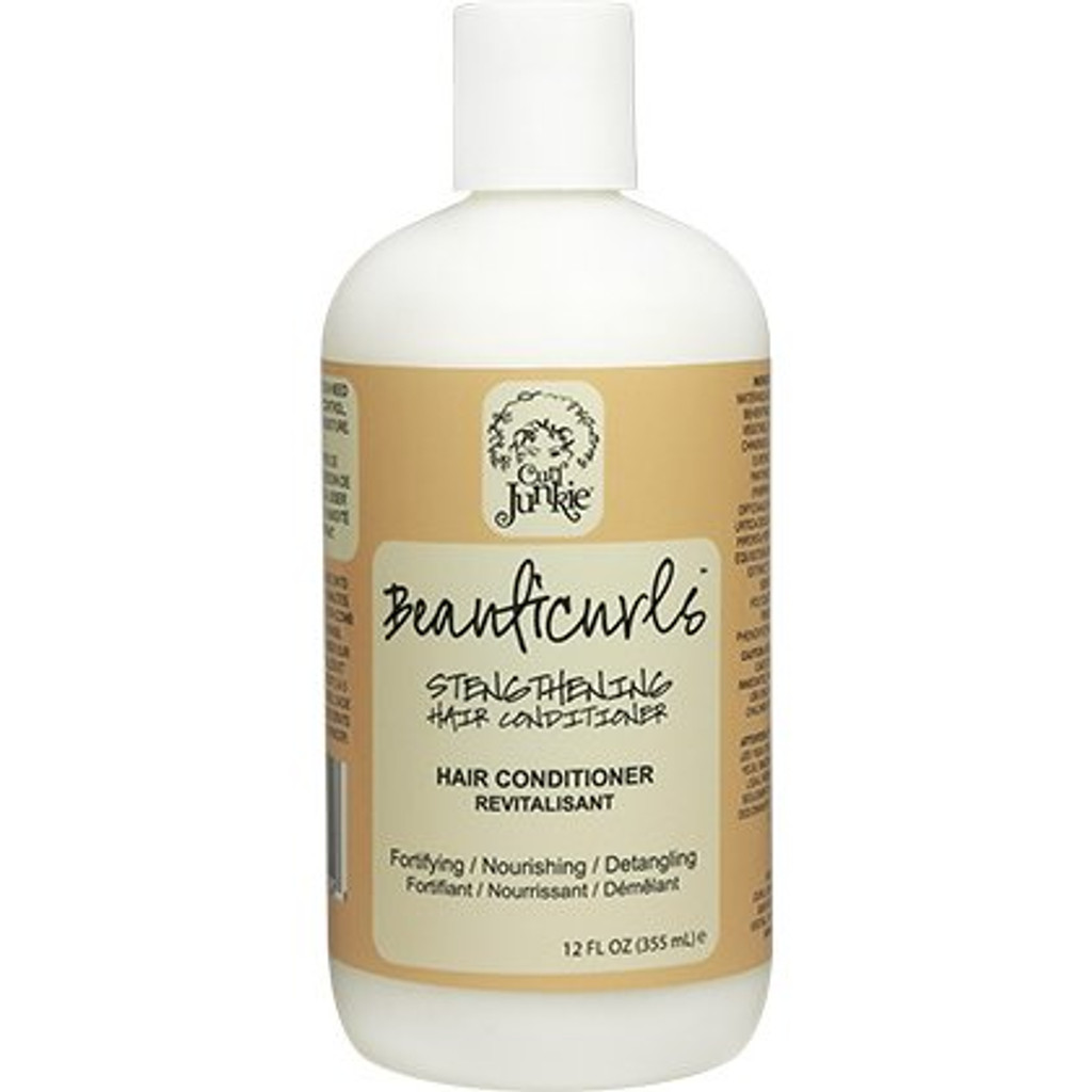 Curl Junkie Beauticurls Strengthening Hair Conditioner (12 oz.)