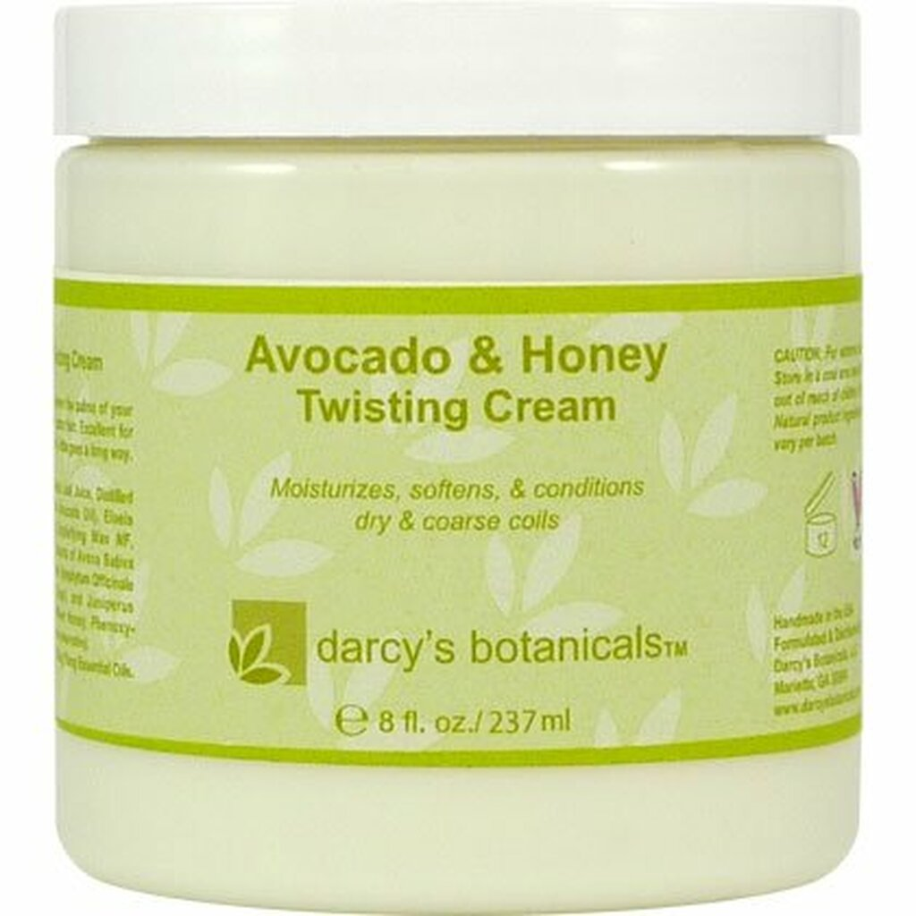 Review: Darcy's Botanicals Avocado & Honey Twisting Cream (8 oz.)