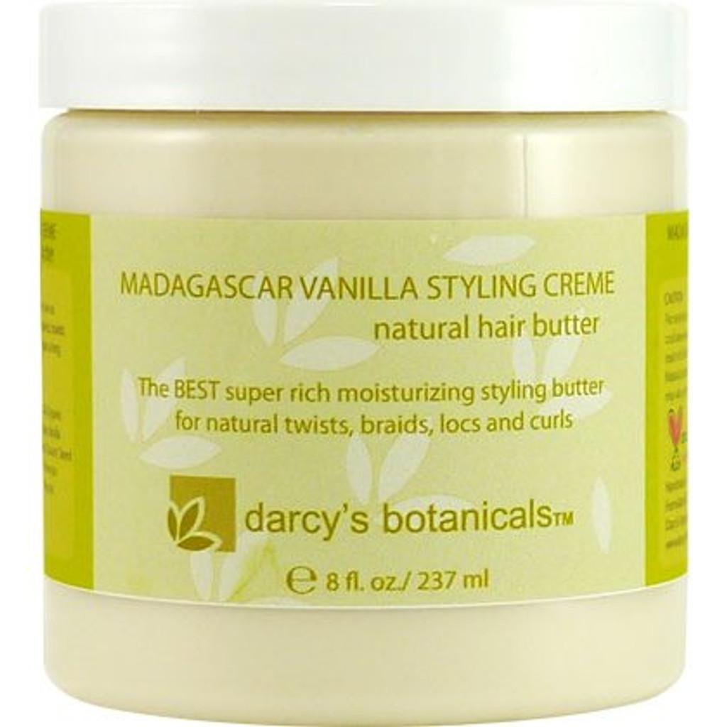 Review: Darcy's Botanicals Madagascar Vanilla Styling Creme (8 oz.)