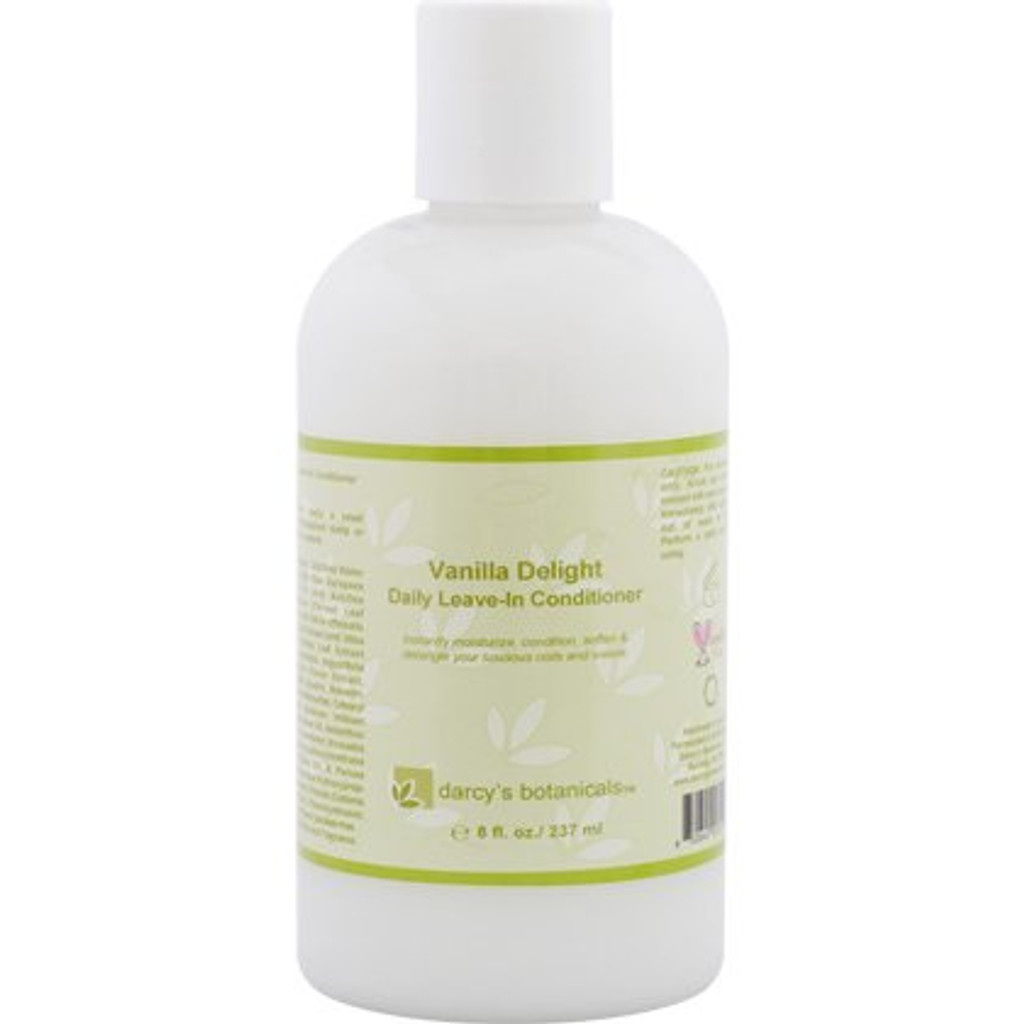 Review: Darcy's Botanicals Vanilla Bean Daily Leave-In Conditioner (8 oz.)